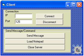 Programming Client + Server (with TCP) on Visual Basic